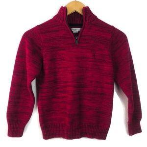 Calvin Klein Kids Quarter Zip Sweater